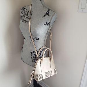 Coach purse in cream